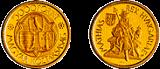Mátyás király halálának 500. évfordulója - aranyérme
